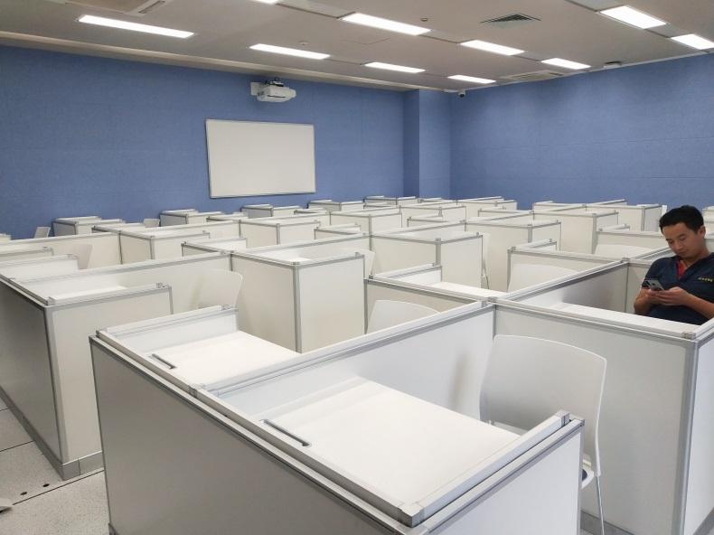 南方科技大学德赢体育平台下载安装屏风语音教室